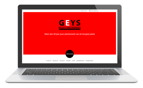 webdesign - geys bezettingswerken